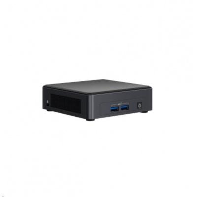 INTEL NUC Kit NUC8v7PNK, i7 Core 8665U/DDR4/USB3.0/LAN/WifFi/UHD620/M.2/vPro/No EU power cord (Provo Canyon)