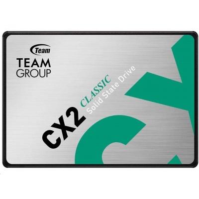 """Team SSD 2.5"""" 2TB CX2 (R:540, W:490 MB/s)"""