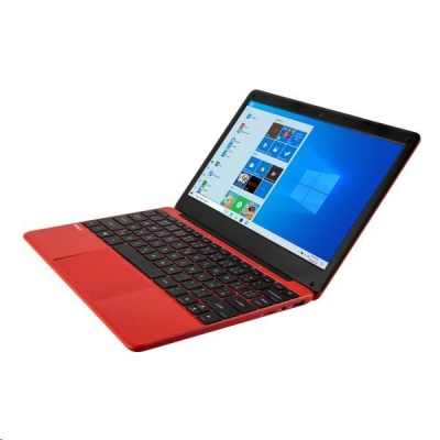"UMAX NTB VisionBook 12Wr Red - 11,6"" IPS FHD 1920x1080,Celeron N4020@1,1 GHz, 4GB, 64GB,Intel UHD, W10P, Červená"