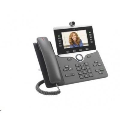 "Cisco CP-8845-3PCC-K9=, VoIP telefon, 10line, 2x10/100/1000, 5"" displej, kamera, Bluetooth, PoE"