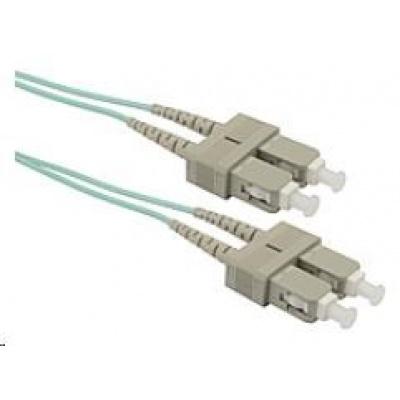 Solarix Patch kabel 50/125 SCupc/SCupc MM OM3 2m duplex SXPC-SC/SC-UPC-OM3-2M-D