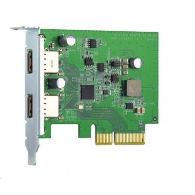 QNAP QXP-10G2U3A rozšiřující karta 2xUSB3.2