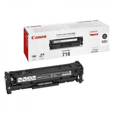 Canon LASER TONER black CRG-718BK (CRG718BK) 3 400 stran*