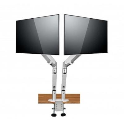 SPIRE držák na 2 monitory DUAL MONITOR ARM II, ergonomický, hliníkový