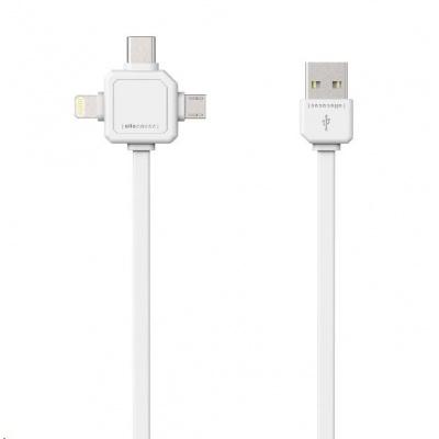 Allocacoc USBcable USB-C White
