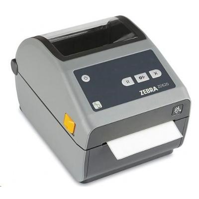 Zebra DT tiskárna etiket ZD620d, 203 dpi, USB, USB Host, Serial, LAN, 802.11, BT ROW