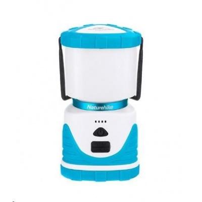 Naturehike universální kempingová lampa Q-9E 6600mAh 518g - modrá