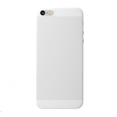 3mk ochranný kryt NaturalCase pro Apple iPhone 5, 5s, SE, transparentní bílá