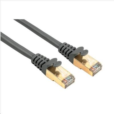 Hama síťový patch kabel CAT 5e, 2xRJ45, stíněný, 3m