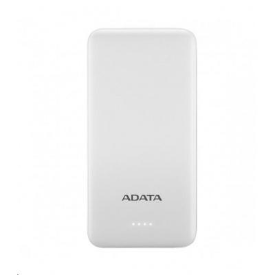 ADATA PowerBank AT10000 - externí baterie pro mobil/tablet 10000mAh, bílá