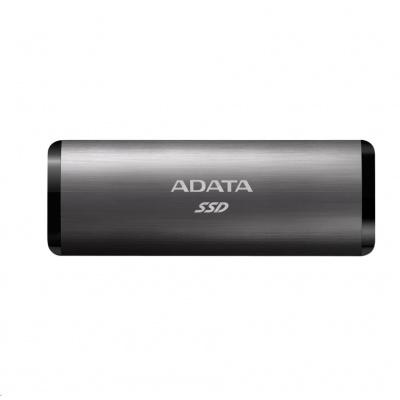 ADATA External SSD 512GB SE760 USB 3.2 Gen2 type C Titanová šeď