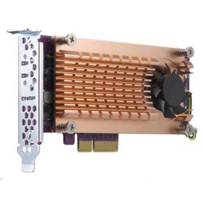 QNAP QM2-2P-384 rozšiřující karta 2xM.2 NVMe