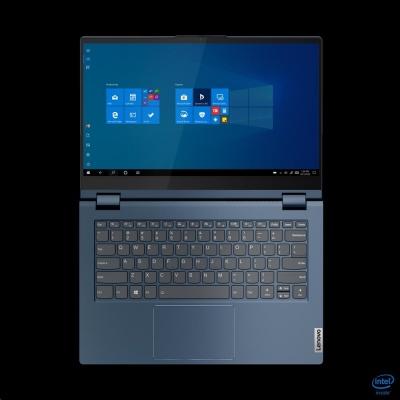 "LENOVO NTB ThinkBook 14s Yoga ITL - i7-1165G7,14"" FHD IPS touch,16GB,512SSD,TB4,HDMI,W10P,modrá,2r carry-in"