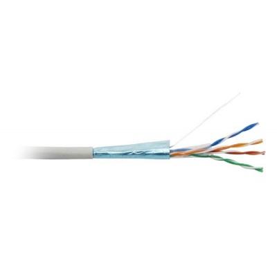 FTP kabel LYNX, Cat5E, drát, PVC, Dca, šedý, 305m