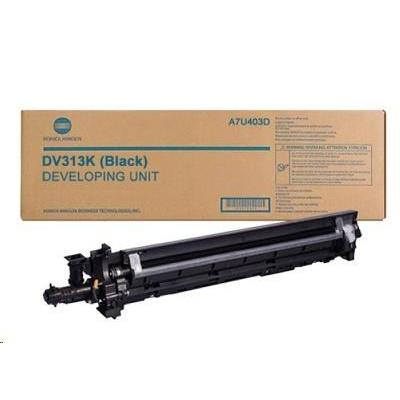 Minolta Vývojnice DV-313K, černá do bizhub 308, 368, C258, C308, C368 (600k)