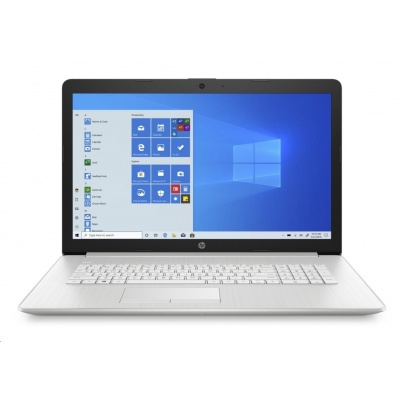 NTB HP 17-by3003nc, 17.3 SVA AG FHD, Core i5-1035G1,16GB DDR4, SSD 512GB, Nvidia GeForce MX330 2GB, Win10,Natural silver