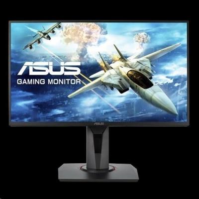 "ASUS LCD 24.5"" VG258QR FHD 1920x1080 Esports Gaming 0.5ms up to 165Hz DP HDMI DVI-D Super Narrow Bezel FreeSync Low Blue"