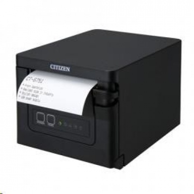 Citizen CT-S751, USB, 8 dots/mm (203 dpi), cutter, white