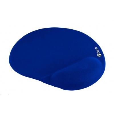 C-TECH Podložka pod myš gelová MPG-03, modrá, 240x220mm