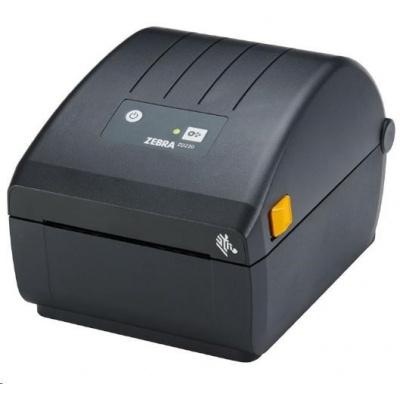 Zebra DT ZD220d, 8 dots/mm (203 dpi), odlepovač, EPLII, ZPLII, USB