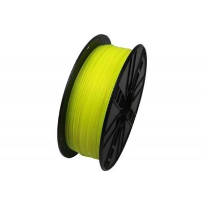 GEMBIRD Tisková struna (filament) PLA, 1,75mm, 1kg, fluorescentní, žlutá