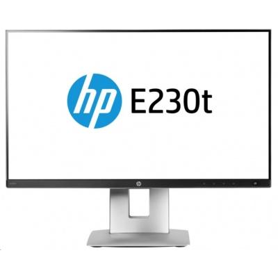 "HP LCD EliteDisplay E230t 23"" Touch Monitor (1920*1080,IPS, 16:9,250nits, 1000:1,5.7ms,DisplayPort 1.2, HDMI 1.4, VGA)"