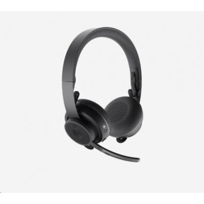 Logitech sluchátka s mikrofonem UC Zone Wireless Headset, EMEA, Graphite