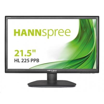 "HANNspree MT LCD HL225PPB 21,5"" 1920x1080, 16:9, 250cd/m2, 1000:1 / 80M:1, 5 ms"