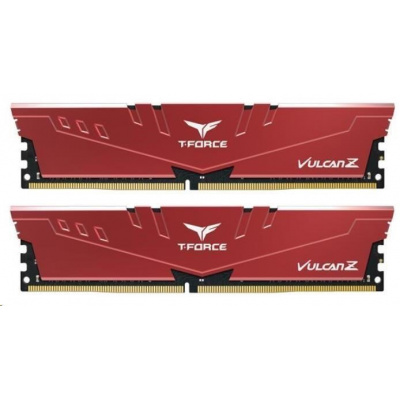 DIMM DDR4 16GB 3200MHz, CL16, (KIT 2x8GB), T-FORCE VULCAN Z, Red
