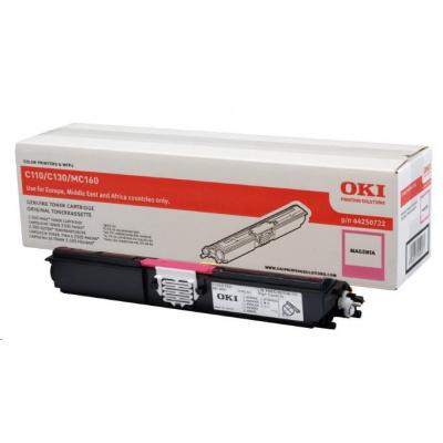 Oki Toner Magenta do C110/C130n/MC160 (2.5K)