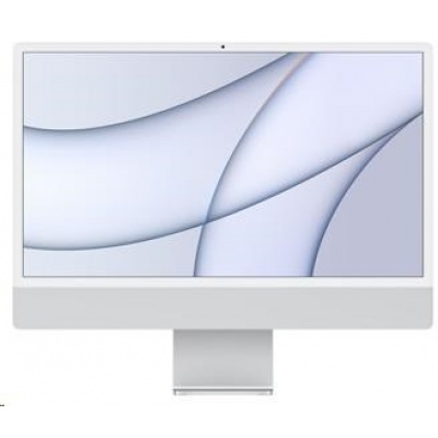 Apple 24-inch iMac with Retina 4.5K display: M1 chip with 8-core CPU and 7-core GPU, 256GB - Silver