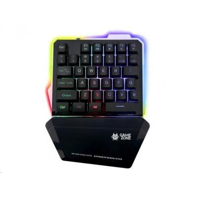 TRACER klávesnice GAMEZONE BRAWLER, keypad, herní, drátová, USB, podsvícená