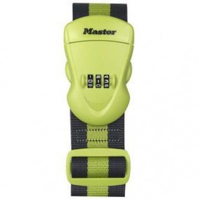 MasterLock 4701EURDGRN Popruh na zavazadlo kombinační