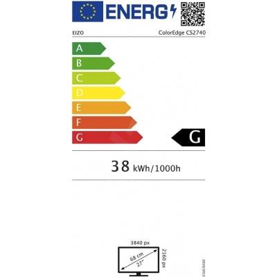 """EIZO MT IPS LCD 4K-UHD 27"""", CS2740"""
