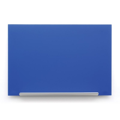 Skleněná tabule Diamond glass modrá 67,7x38,1
