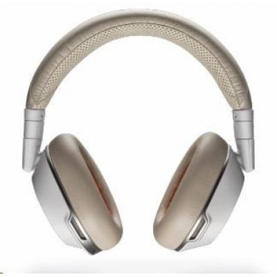 PLANTRONICS Bluetooth Headset Voyager 8200 UC, BT USB adaptér, nabíjecí pouzdro, bílá