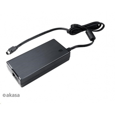AKASA napájecí adaptér AK-PD150-02KEU, ITX 150W PSU 4-pin power DIN