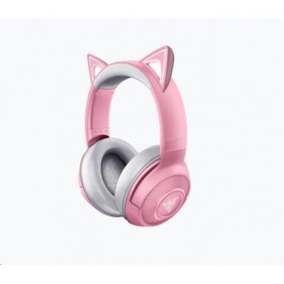RAZER sluchátka Kraken BT Kitty Edition, Wireless Bluetooth Headset