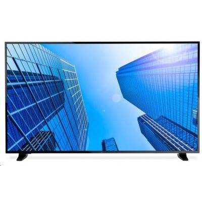"""NEC LFD 55"""" MuSy E557Q VA LED,3840x2160,4000:1,350cd,8ms,VGA,3 x HDMI,SPDIF,RS-232C audio 2x10W,16/7, bez stojana"""