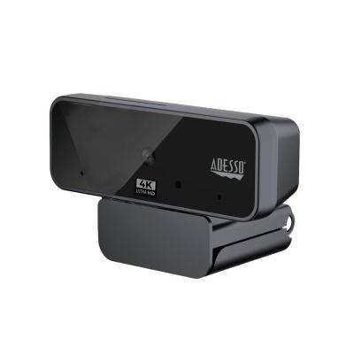 ADESSO webkamera CyberTrack H6 (4K Ultra HD, 8MP,  Auto Focus, duální mikrofon, bezpečnostní záklopka)