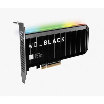 WD BLACK SSD NVMe 4TB PCIe AN1500,Gen3, (R:6500, W:4100MB/s)