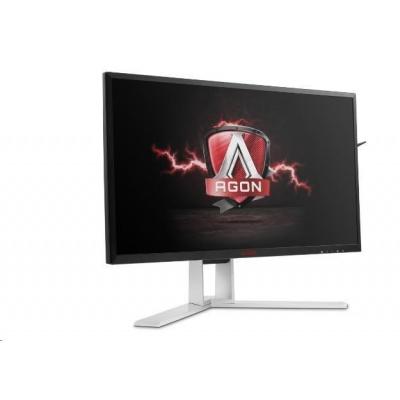 """AOC MT IPS LCD WLED 27"""" AG271QG - IPS, 350cd, 2560x1440, HDMI, 4xUSB, DP, repro, pivot, NVIDIA G-SYNC"""
