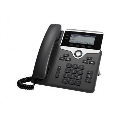 "Cisco CP-7821-3PCC-K9=, VoIP telefon, 2line, 2x10/100, 3,5"" displej, PoE"