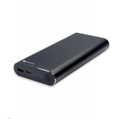 4smarts powerbanka VoltHub 83W & Quick Charge 3.0, 20000 mAh, černá
