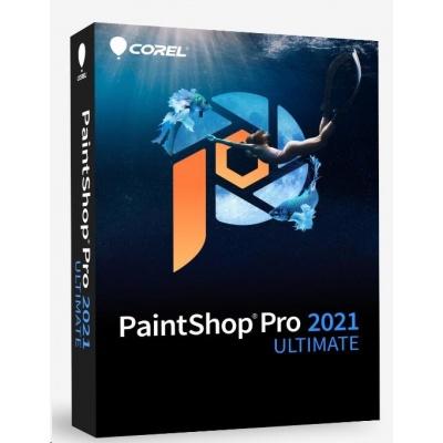 PaintShop Pro 2021 ULTIMATE Mini Box - Windows EN/DE/FR/NL/IT/ES