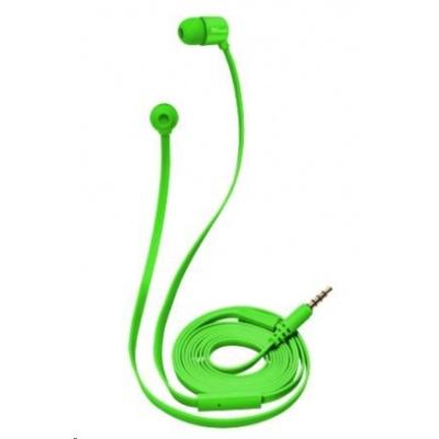 TRUST Duga In-Ear Headphones - neon green