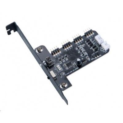 AKASA ovládací panel pro LED pásky VEGAS, RGB 12V