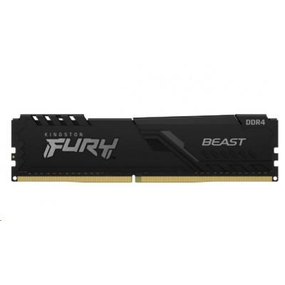 DIMM DDR4 16GB 3733MHz CL19 (Kit of 2) KINGSTON FURY Beast Black