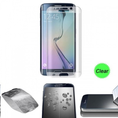 Aligator ochrana displeje Glass Full Cover pro Samsung Galaxy S7 Edge, transparentní