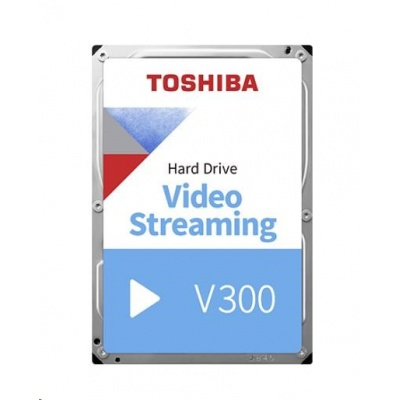 "TOSHIBA HDD V300 Video Streaming 1TB, SATA III, 5700 rpm, 64MB cache, 3,5"", BULK"